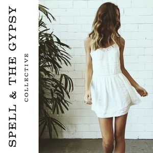 SPELL & THE GYPSY COLLECTIVE SIENNA MINI DRESS